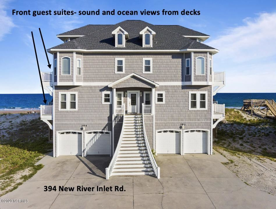 394 New River Inlet Road, North Topsail Beach, NC 28460 - MLS#: 100225728