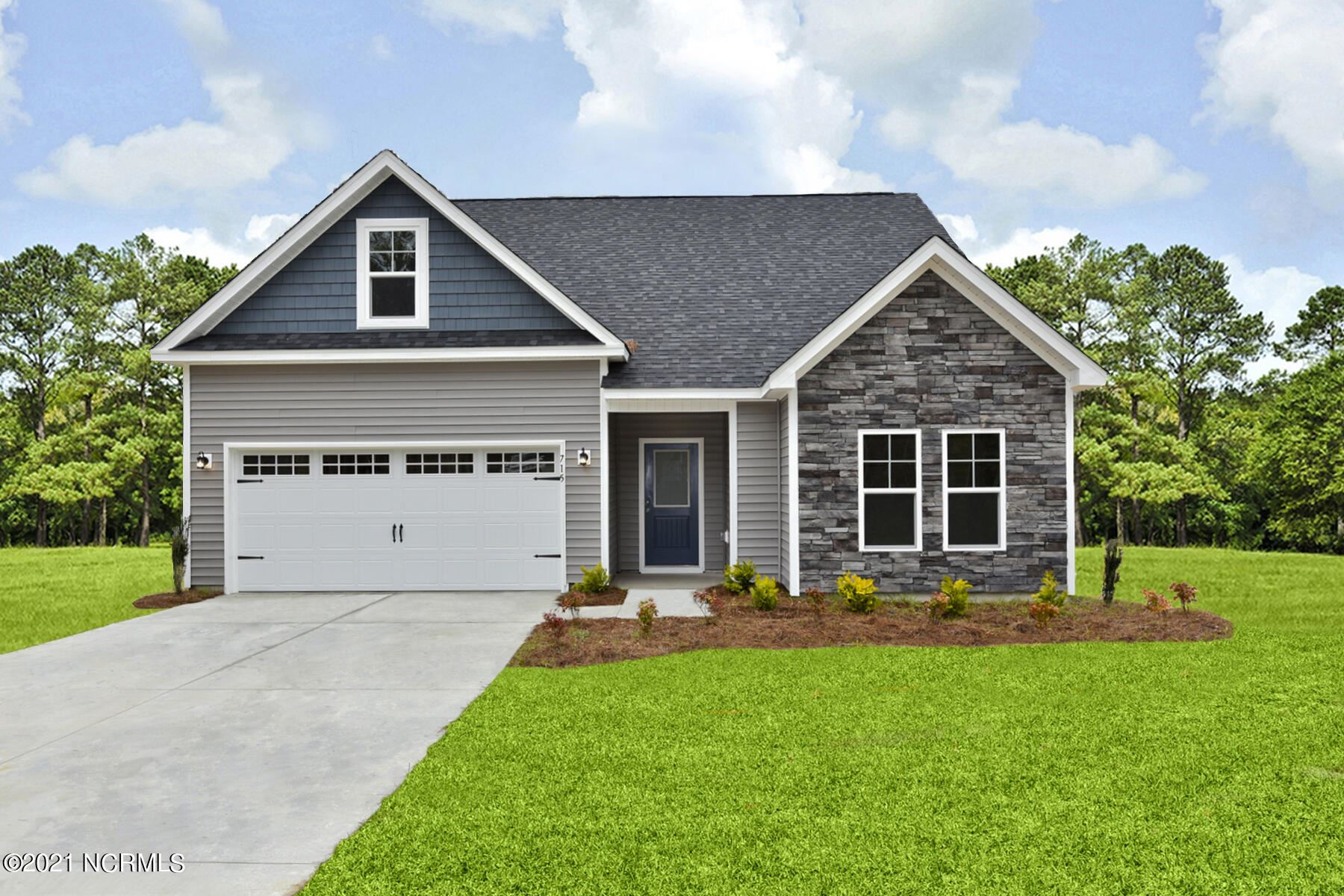 Photo for 715 Cattail Court, Jacksonville, NC 28540 (MLS # 100273731)