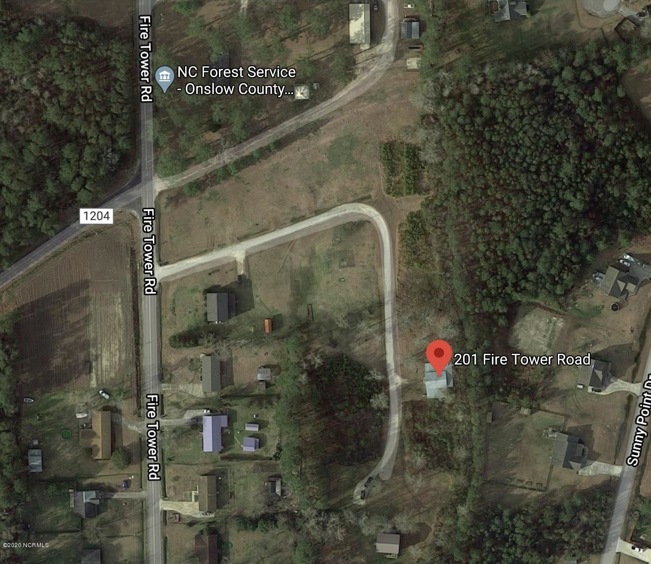 Photo of 201 Fire Tower Road, Richlands, NC 28574 (MLS # 100230746)