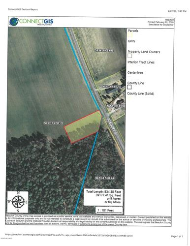 Photo of Lot 1 State Rd 1155 Road, Chocowinity, NC 27817 (MLS # 100205749)