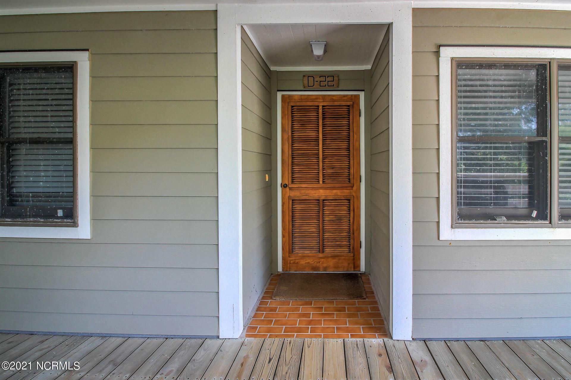 Photo of 590 Marina Drive #D-22, Pine Knoll Shores, NC 28512 (MLS # 100285753)