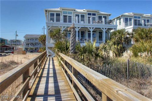 Photo of 309 Fort Fisher Boulevard S #B, Kure Beach, NC 28449 (MLS # 100259754)