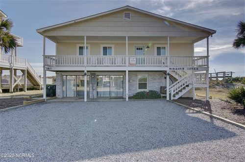 Photo of 1027 Ocean Boulevard W, Holden Beach, NC 28462 (MLS # 100248774)