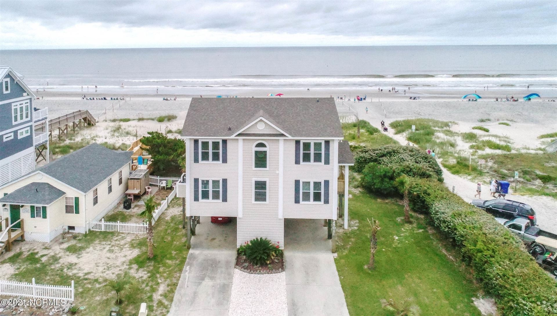 Photo for 2501 E Beach Drive, Oak Island, NC 28465 (MLS # 100284776)