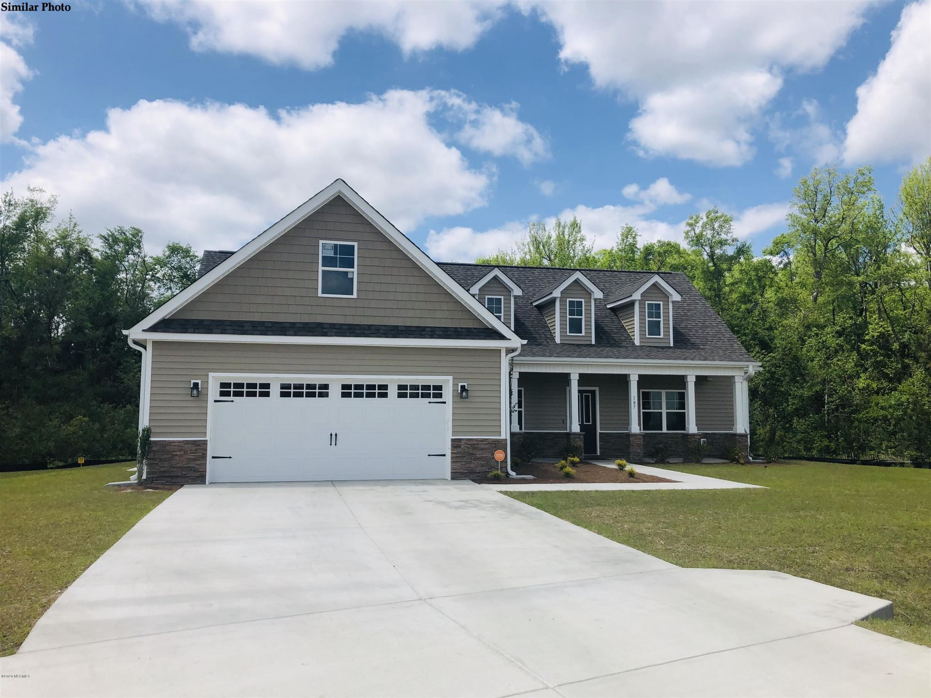 601 Creek Court, Swansboro, NC 28584 - #: 100218782