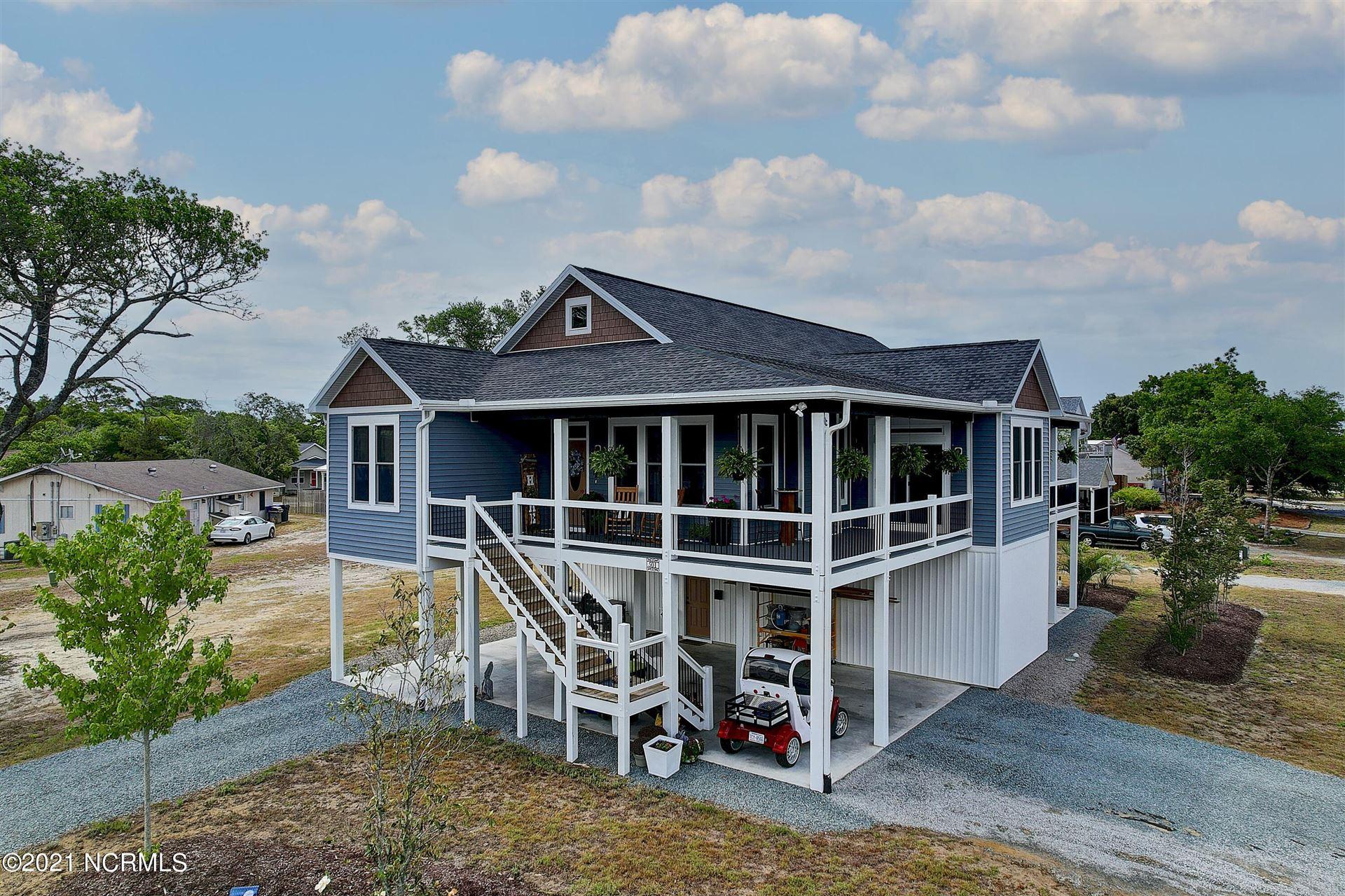 Photo for 501 E Yacht Drive, Oak Island, NC 28465 (MLS # 100275788)