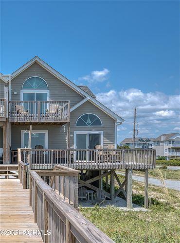 Photo of 3506 Island Drive, North Topsail Beach, NC 28460 (MLS # 100282789)