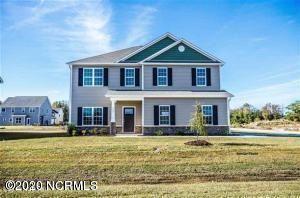 Photo of 107 Village Creek Drive, Maysville, NC 28555 (MLS # 100232826)