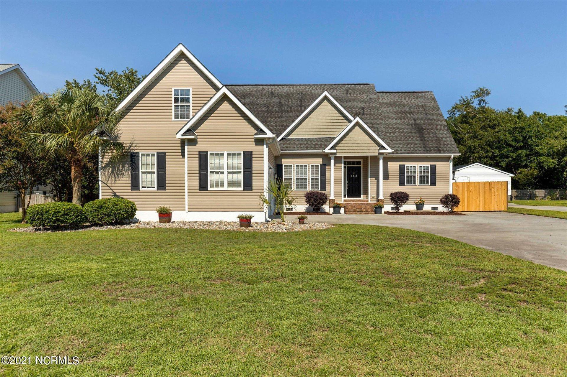 Photo of 568 Pearson Circle, Newport, NC 28570 (MLS # 100285828)