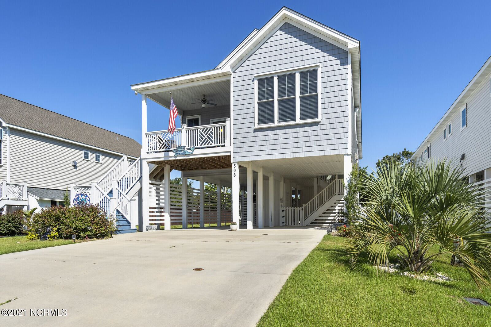 Photo of 308 Ivy Lane, Carolina Beach, NC 28428 (MLS # 100292835)
