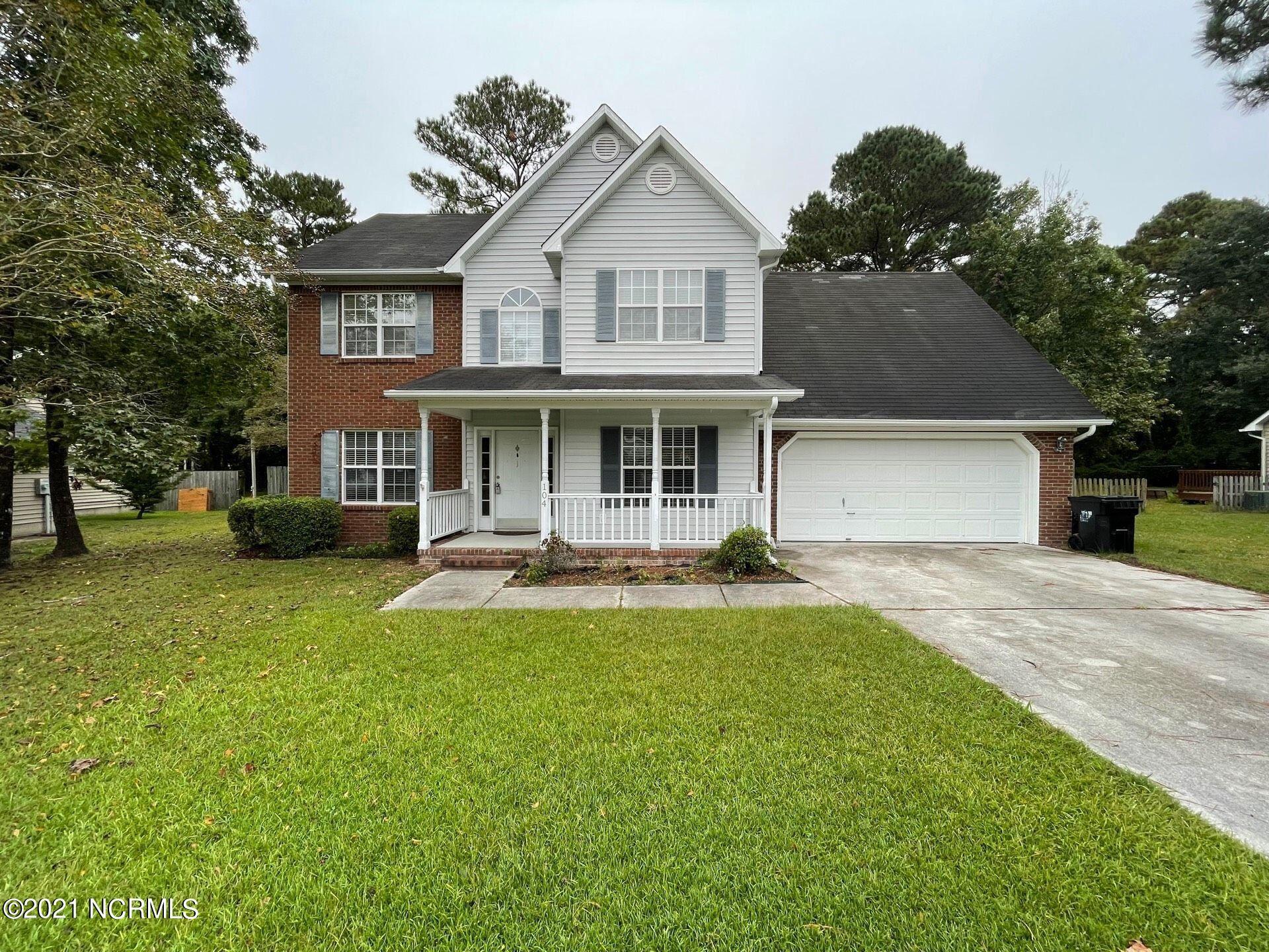 Photo of 104 Dunwoody Drive, Jacksonville, NC 28546 (MLS # 100294835)