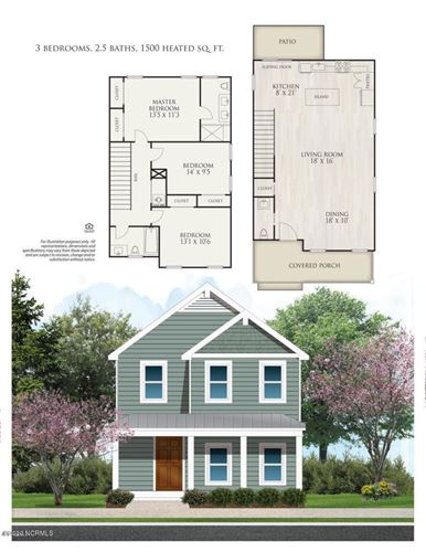Photo of 1009 Campbell Street, Wilmington, NC 28401 (MLS # 100218841)