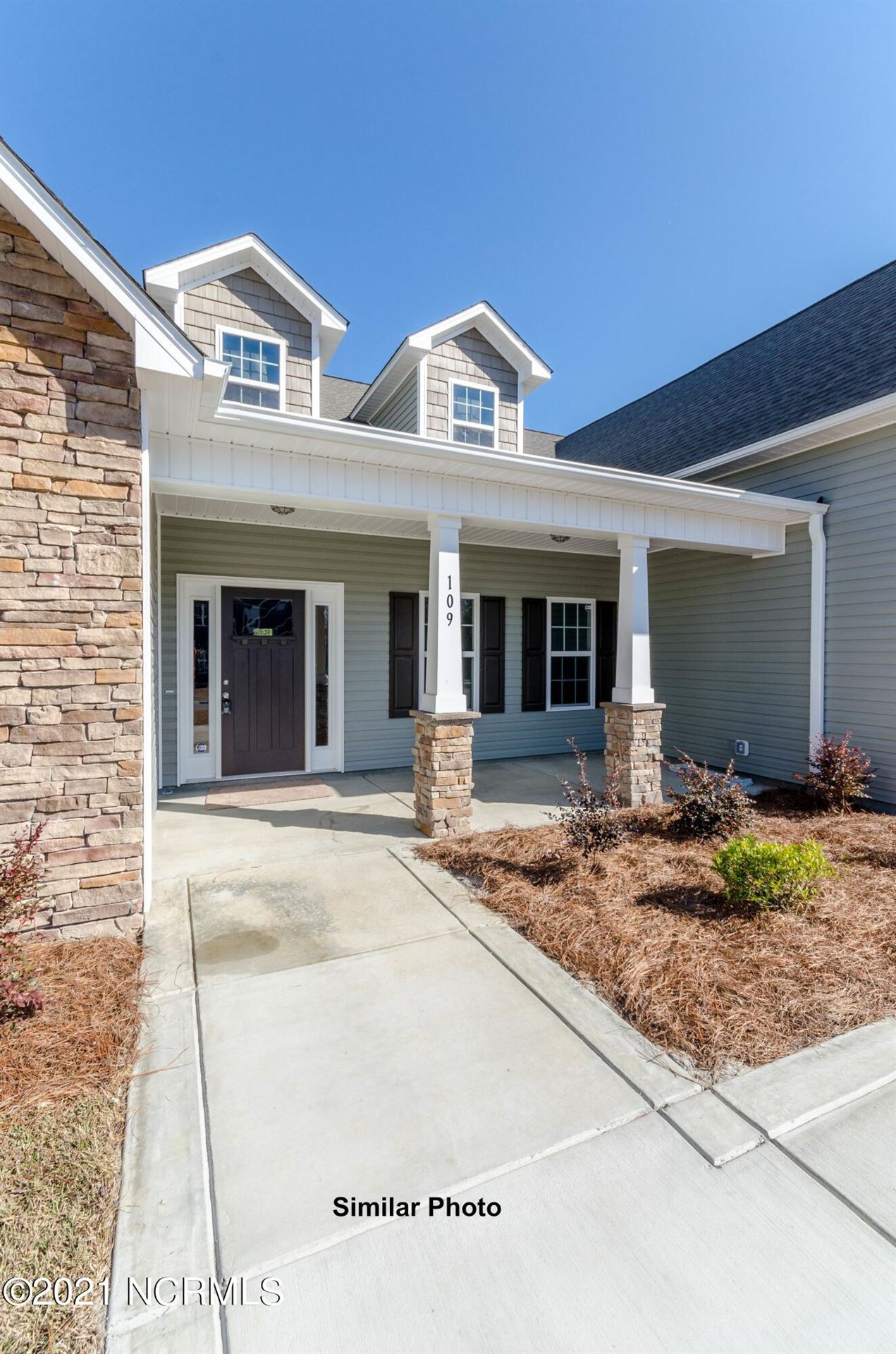 Photo of 108 Evergreen Forest Drive, Sneads Ferry, NC 28460 (MLS # 100294841)