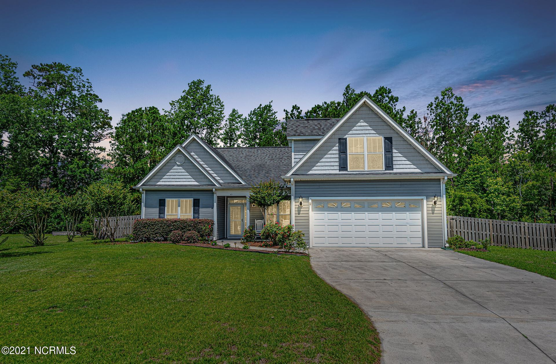 Photo for 49 Amber Court, Hampstead, NC 28443 (MLS # 100276846)