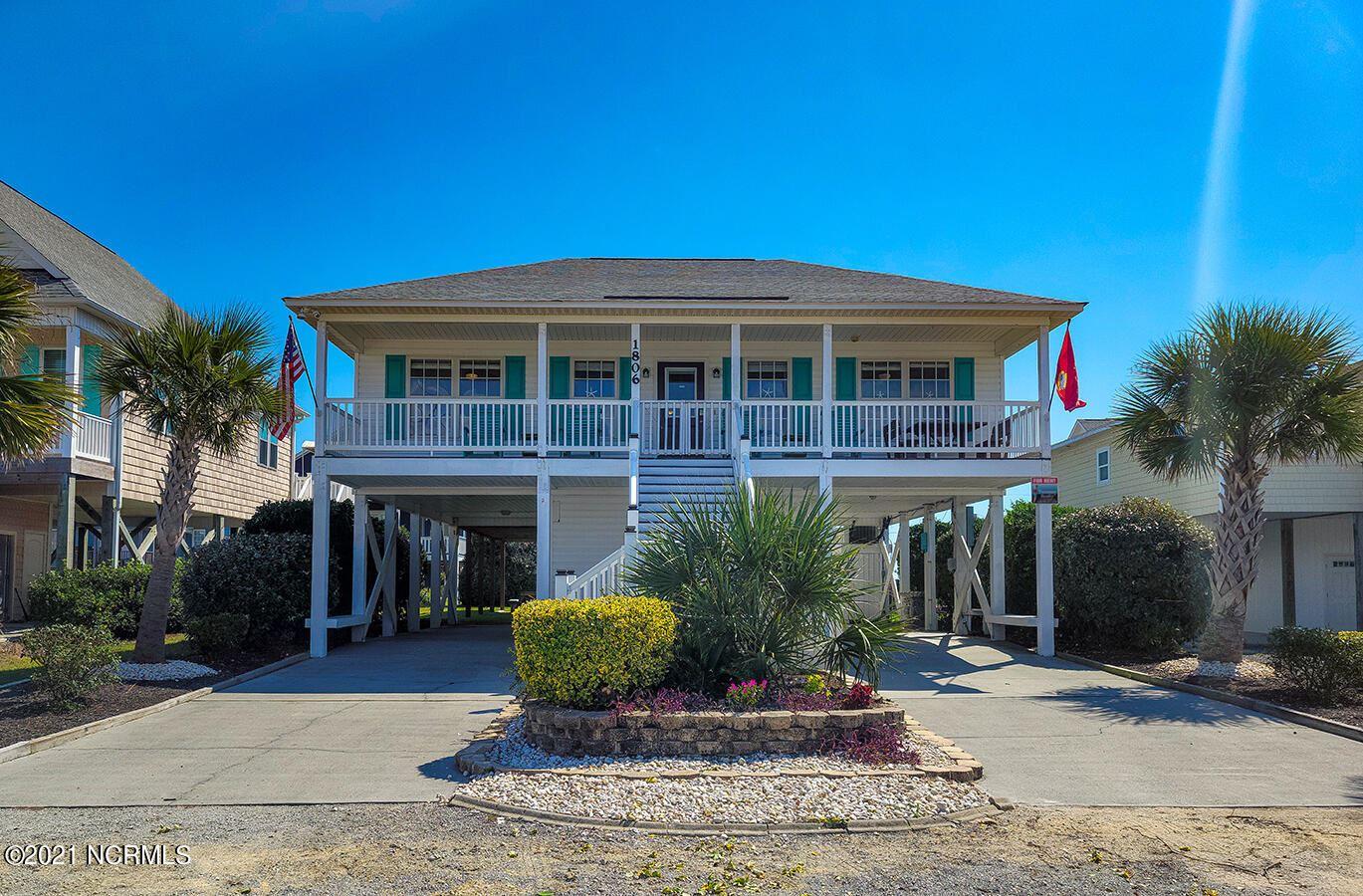 Photo of 1806 N New River Drive, Surf City, NC 28445 (MLS # 100293847)