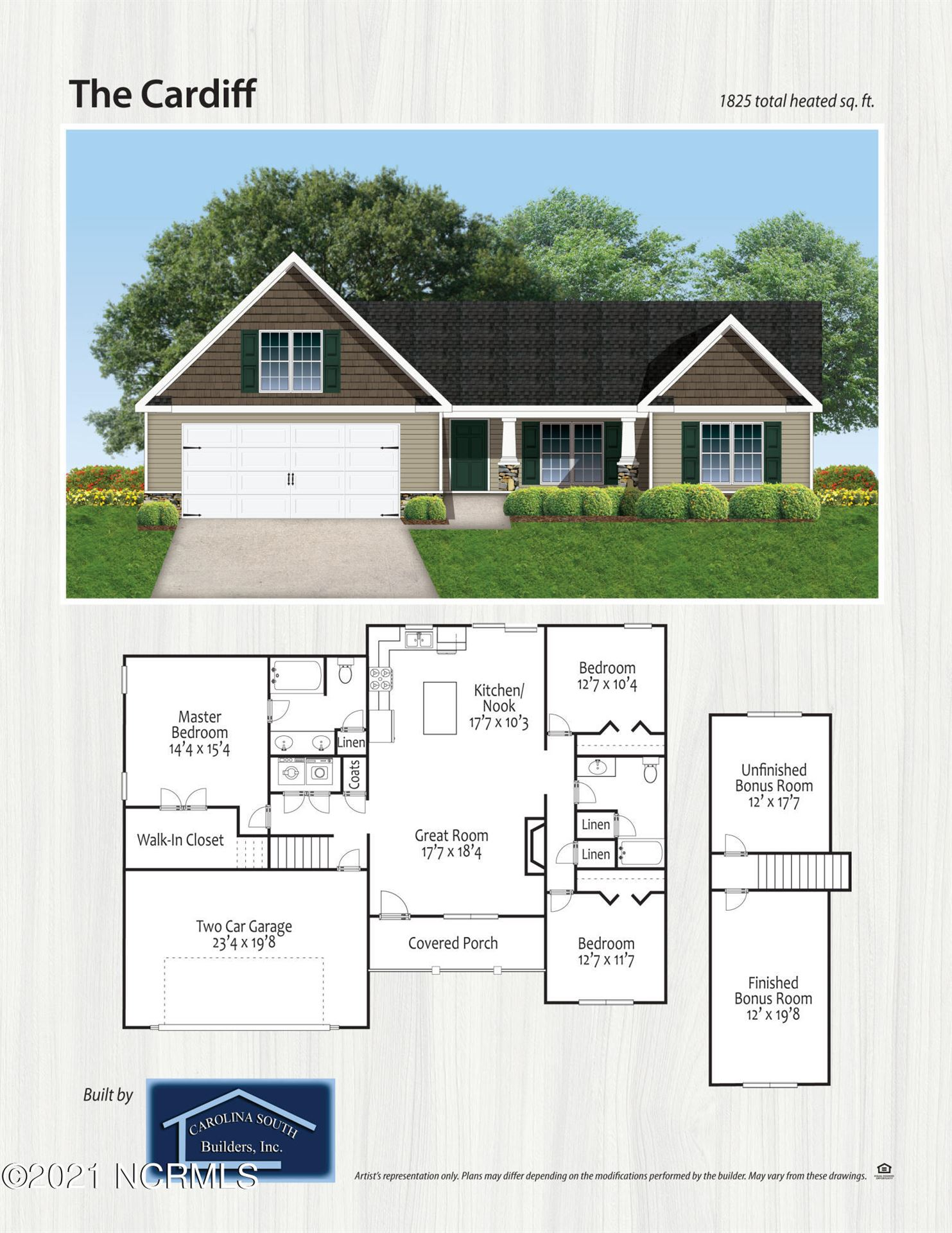 Photo of 521 Poults Drive, Richlands, NC 28574 (MLS # 100286851)