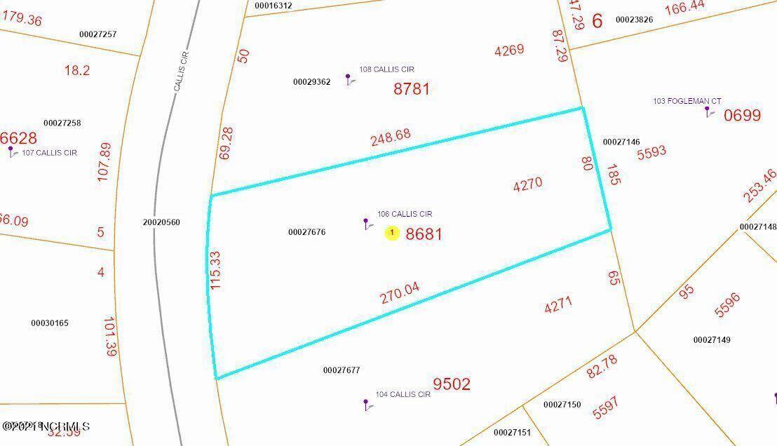 Photo of 106 Callis Circle, West End, NC 27376 (MLS # 100296851)