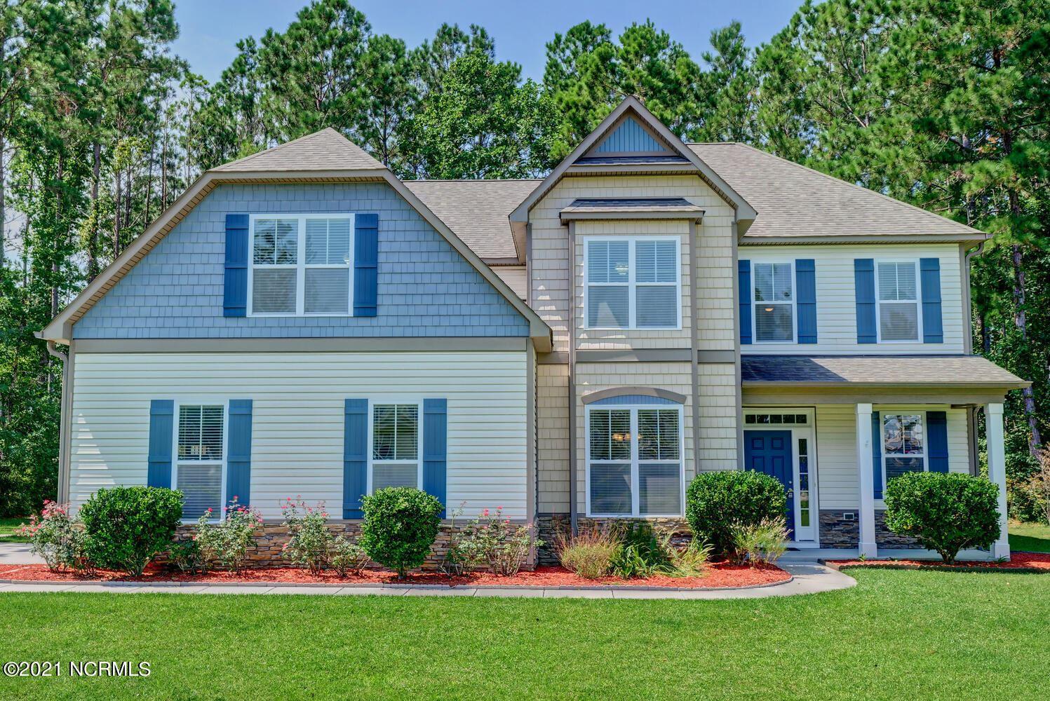 Photo of 422 Majestic Oaks Drive, Hampstead, NC 28443 (MLS # 100287853)