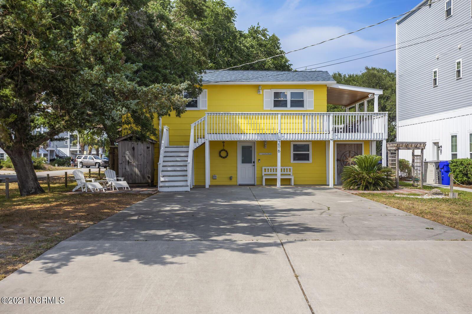 Photo of 206 South Carolina Avenue, Carolina Beach, NC 28428 (MLS # 100273854)