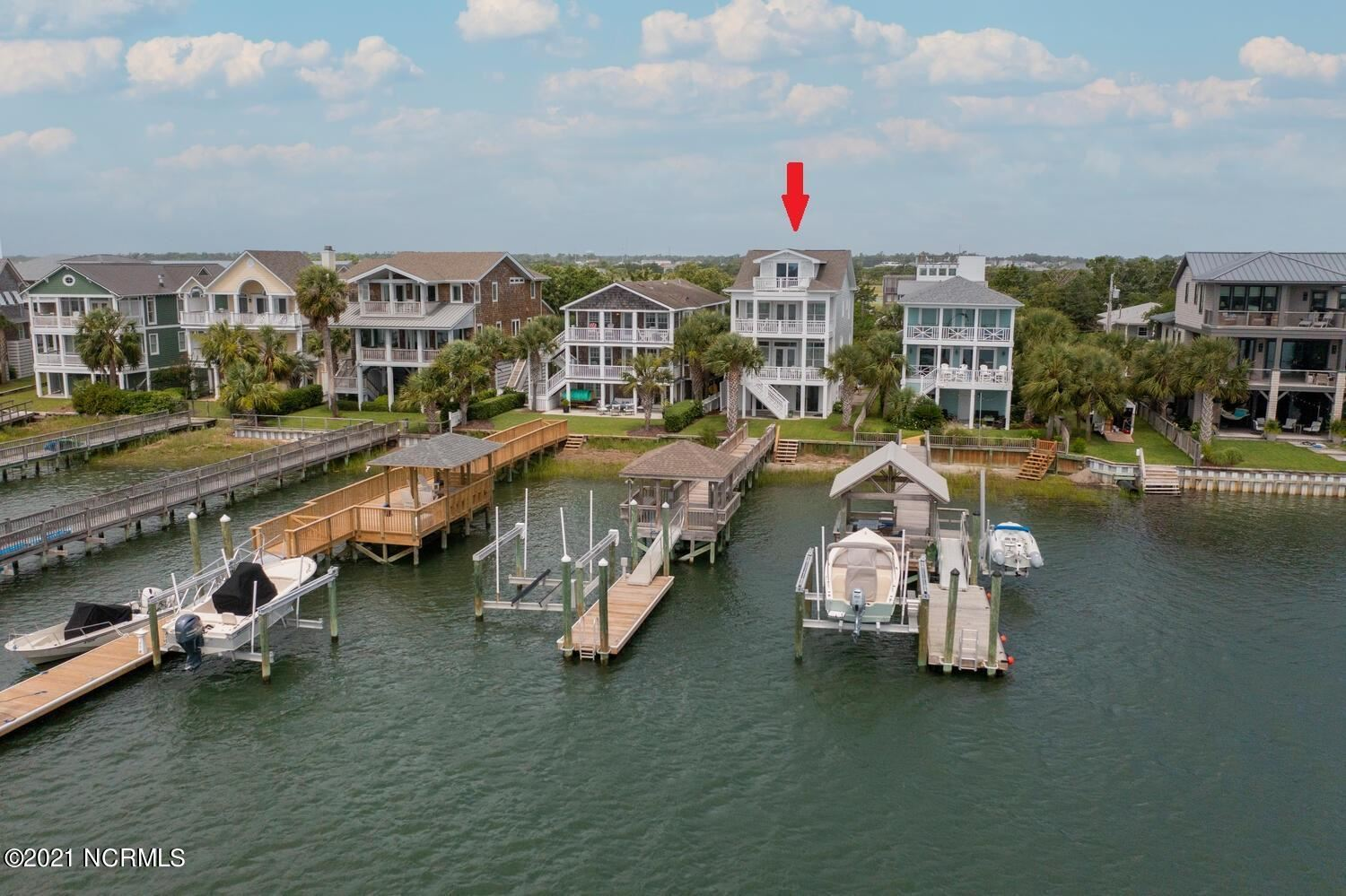 Photo for 510 N Channel Drive, Wrightsville Beach, NC 28480 (MLS # 100280855)