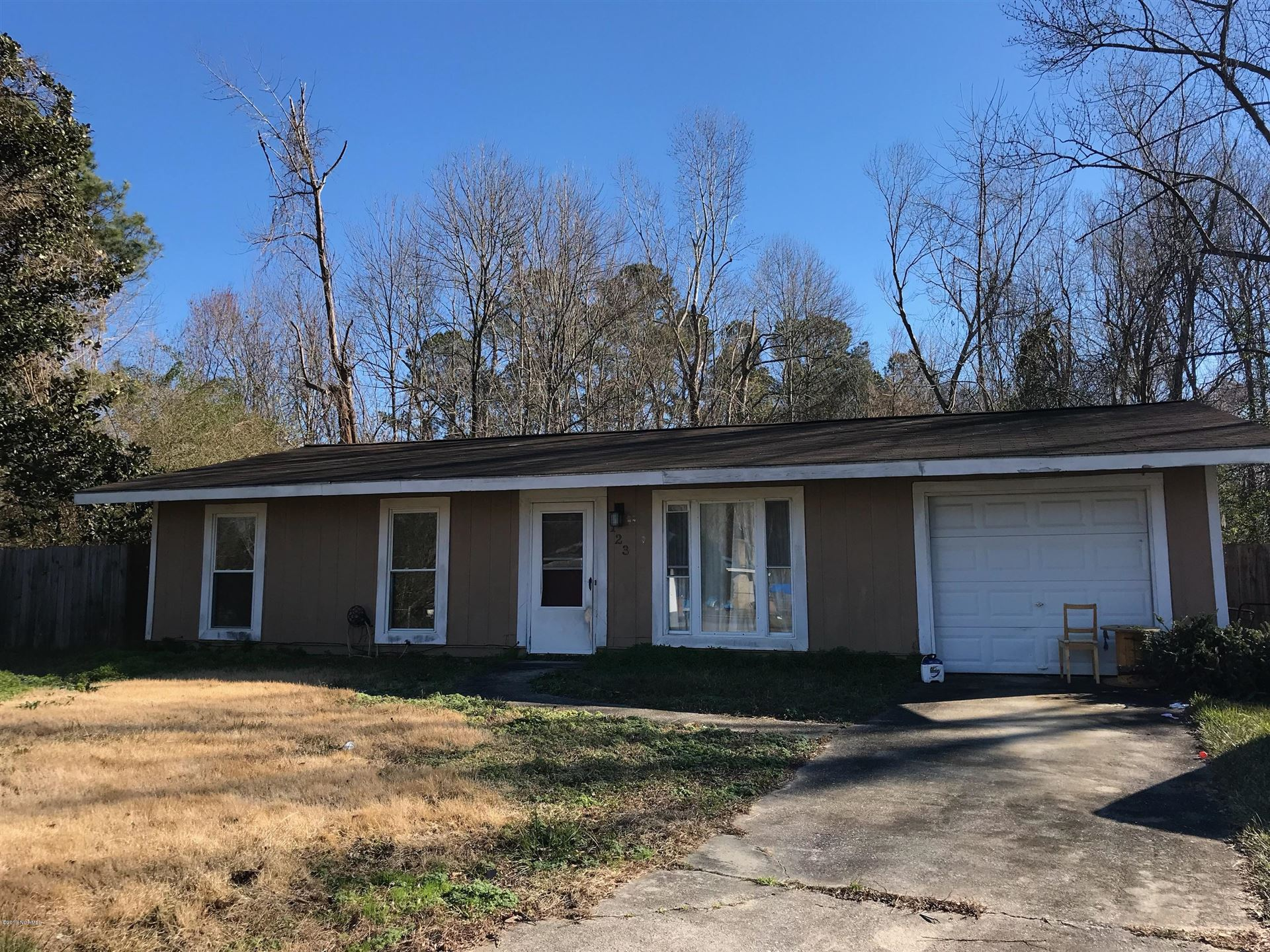 123 Timber Lane, Jacksonville, NC 28540 - #: 100145860