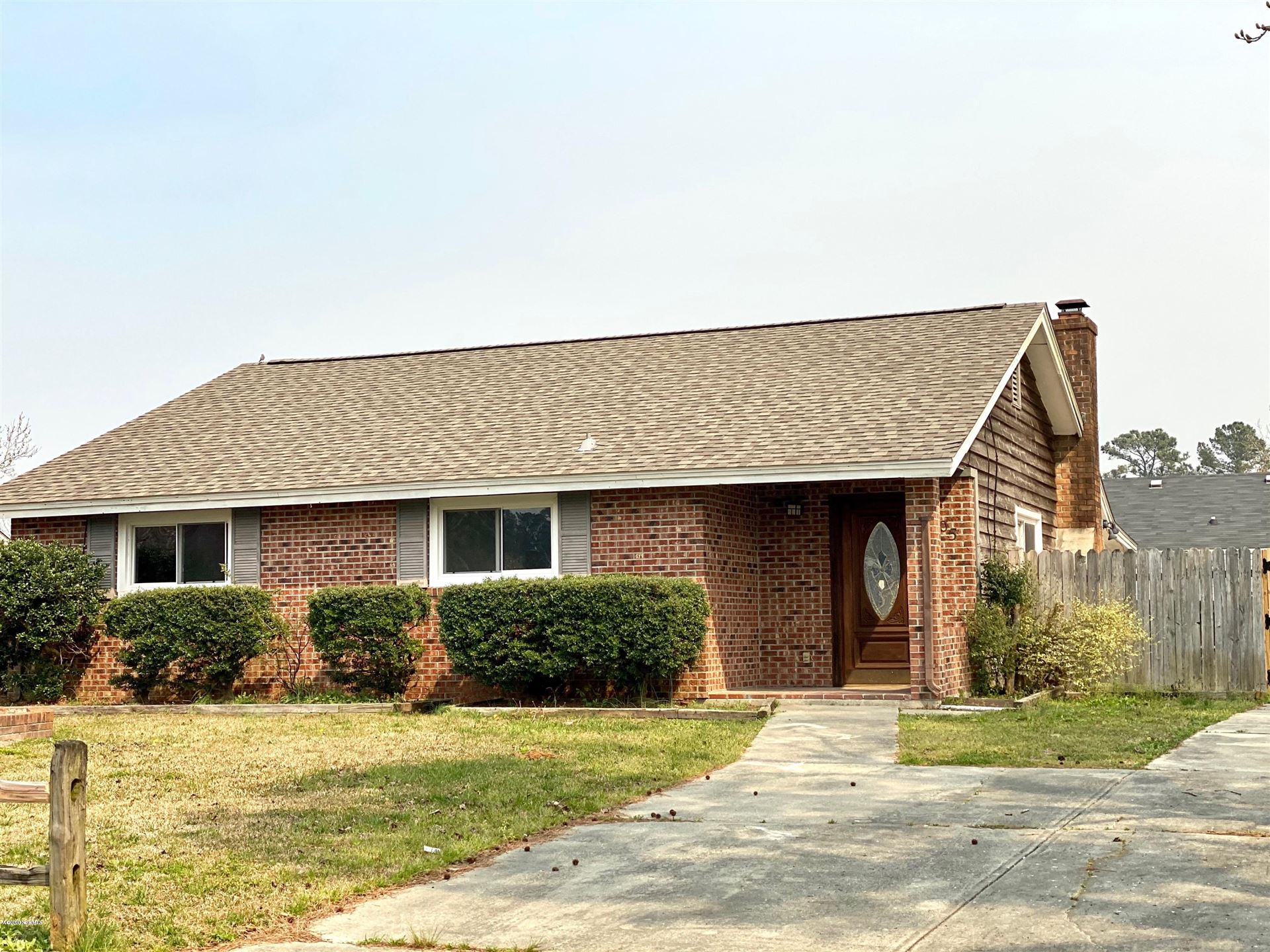 505 S Pine Cone Lane, Jacksonville, NC 28546 - #: 100210863