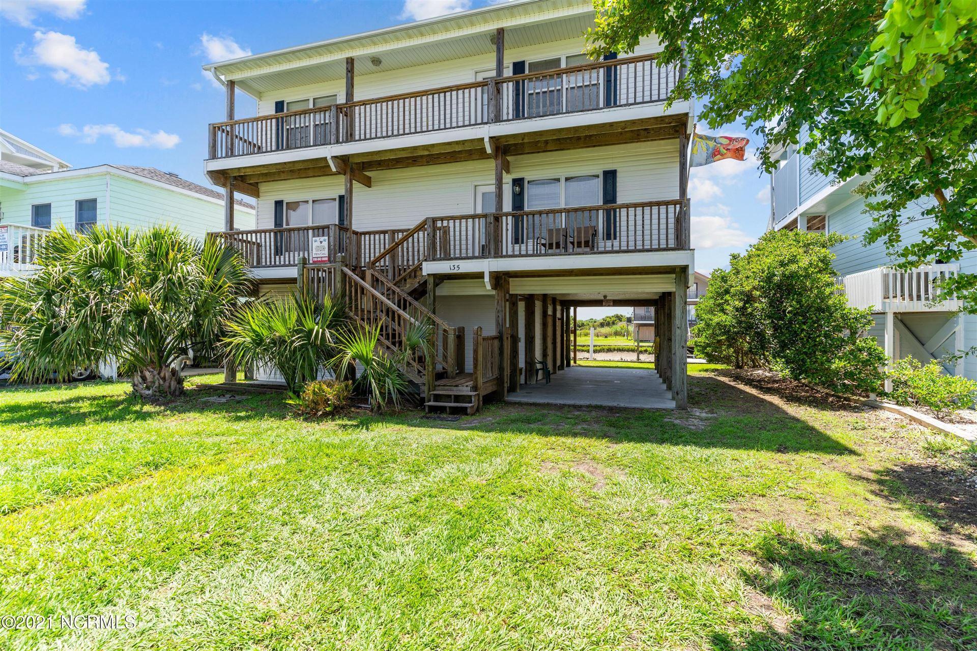 Photo of 135 Starfish Drive, Holden Beach, NC 28462 (MLS # 100278866)
