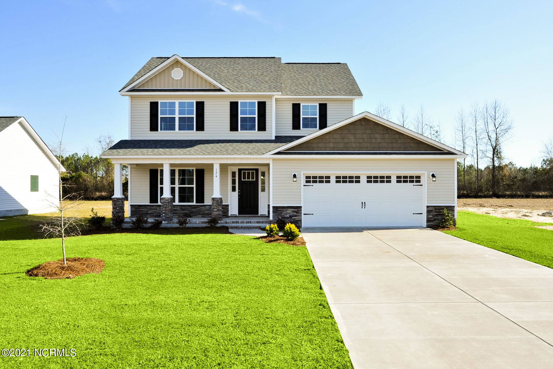 Photo of 418 Duster Lane, Richlands, NC 28574 (MLS # 100291875)