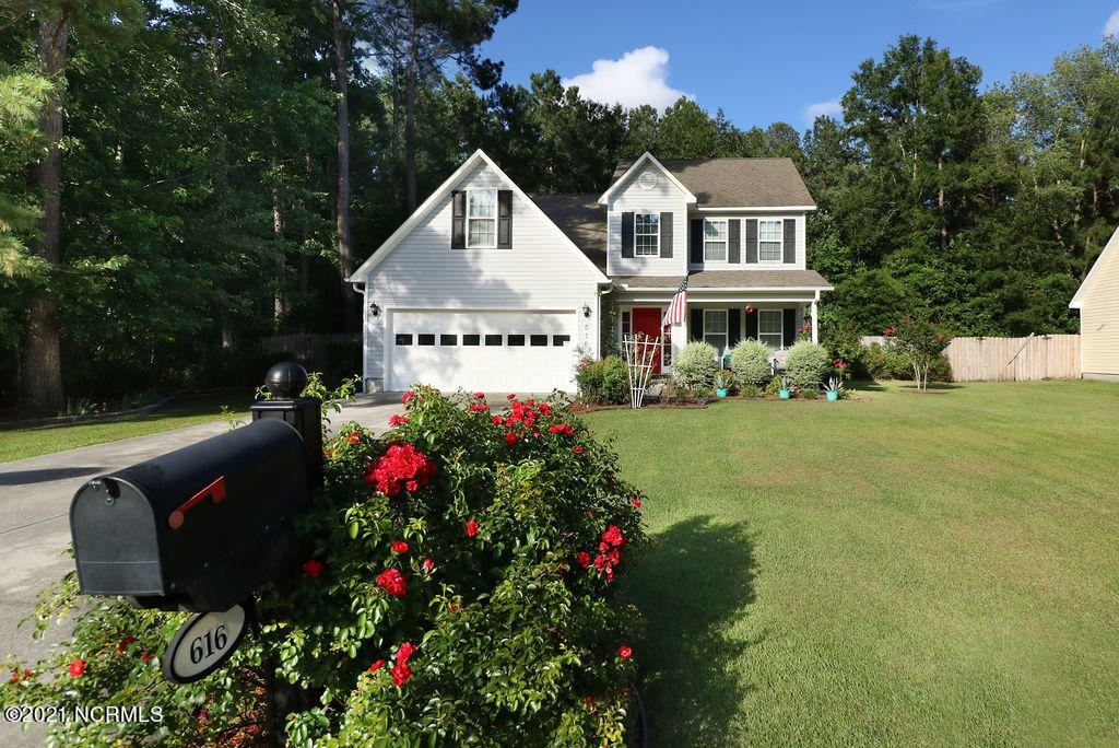 Photo of 616 Walnut Drive, Jacksonville, NC 28540 (MLS # 100280876)