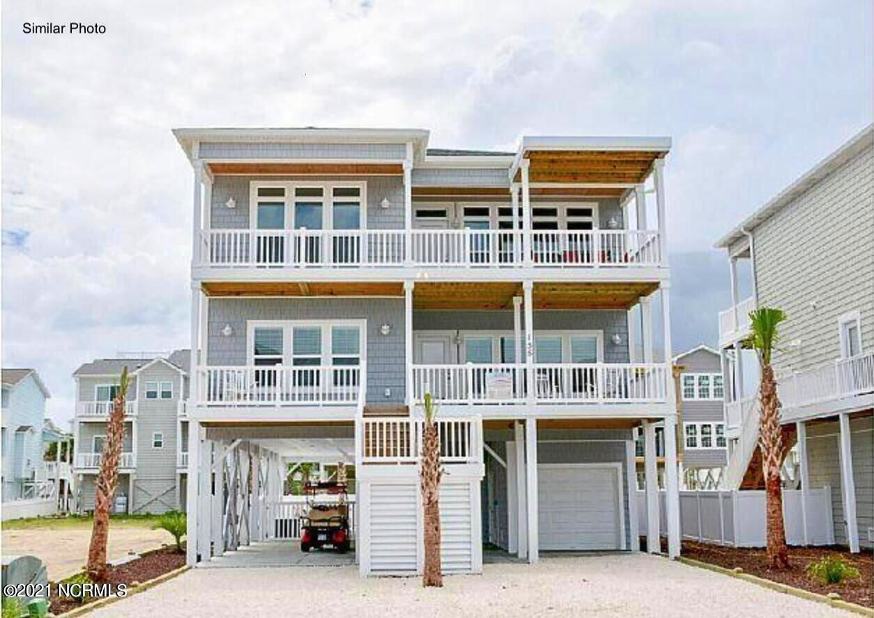 Photo of 1951 New River Inlet Road, North Topsail Beach, NC 28460 (MLS # 100294883)