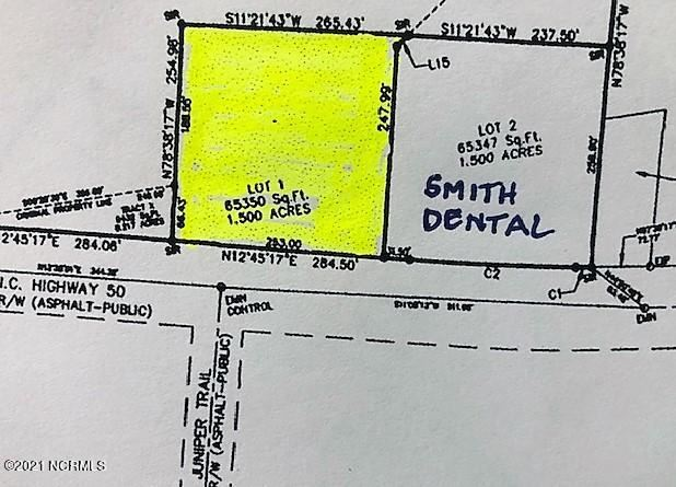 Photo for Lot 1 Nc Hwy 50, Surf City, NC 28445 (MLS # 100286887)