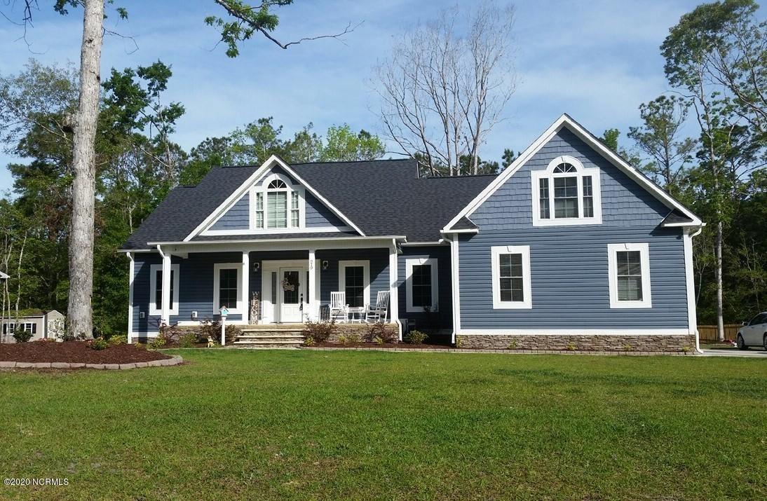 219 White Oak Bluff Road, Stella, NC 28582 - #: 100207889