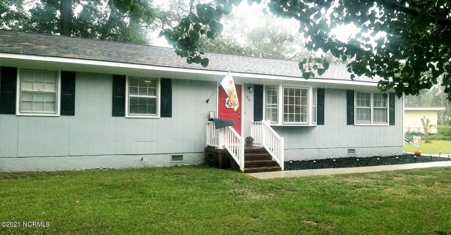 Photo of 126 Woodland Drive, Havelock, NC 28532 (MLS # 100291896)