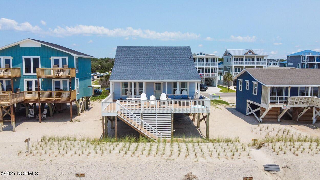 Photo for 127 W Beach Drive, Oak Island, NC 28465 (MLS # 100280898)