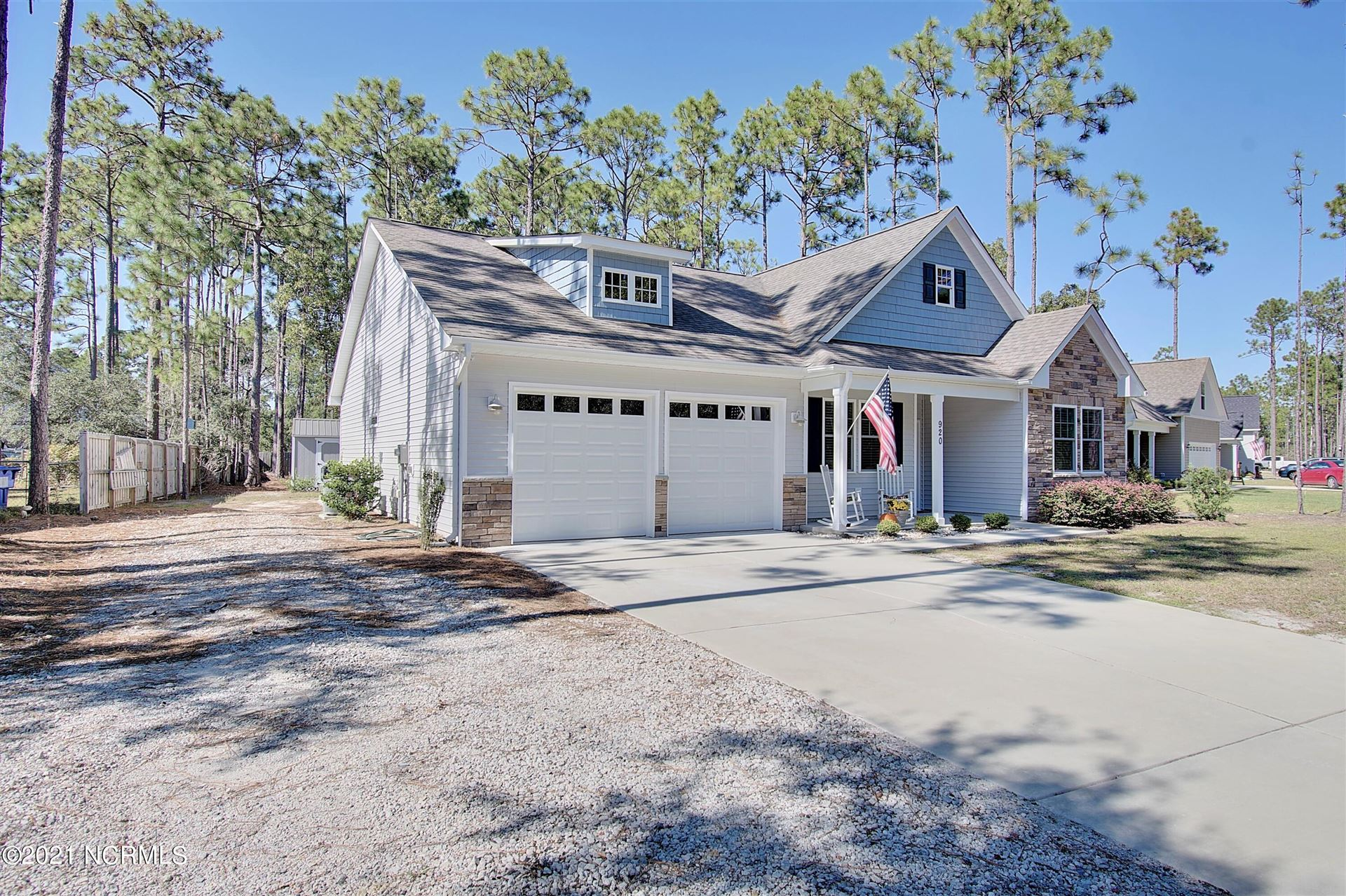 Photo of 920 Eden Drive, Southport, NC 28461 (MLS # 100295901)