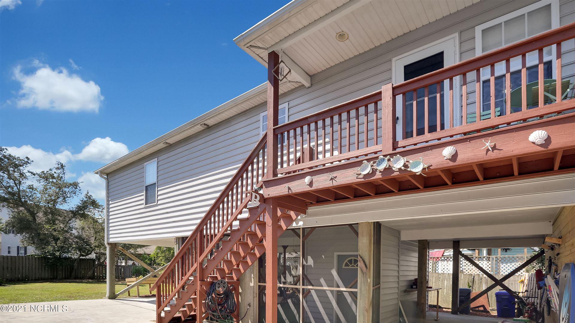 Photo of 415 Greenville Avenue #Unit B, Carolina Beach, NC 28428 (MLS # 100287903)