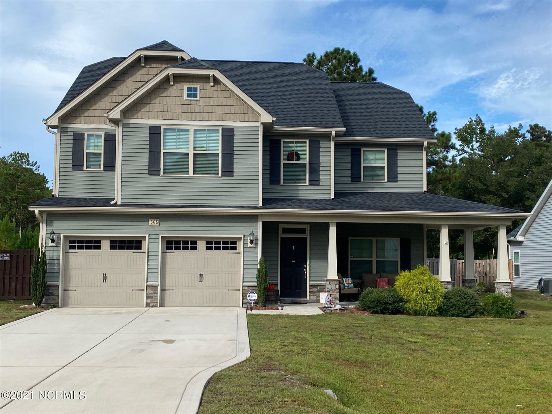 Photo of 308 Red Cedar Drive, Sneads Ferry, NC 28460 (MLS # 100293907)
