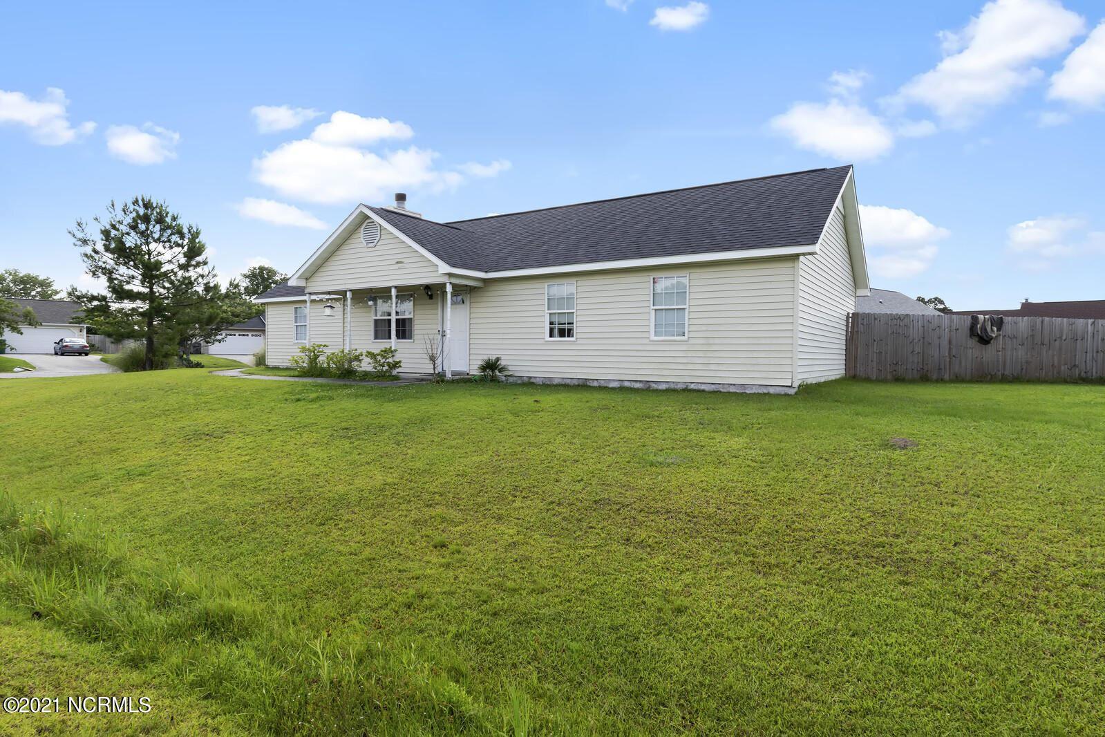 Photo of 206 Zachary Lane, Hubert, NC 28539 (MLS # 100281912)