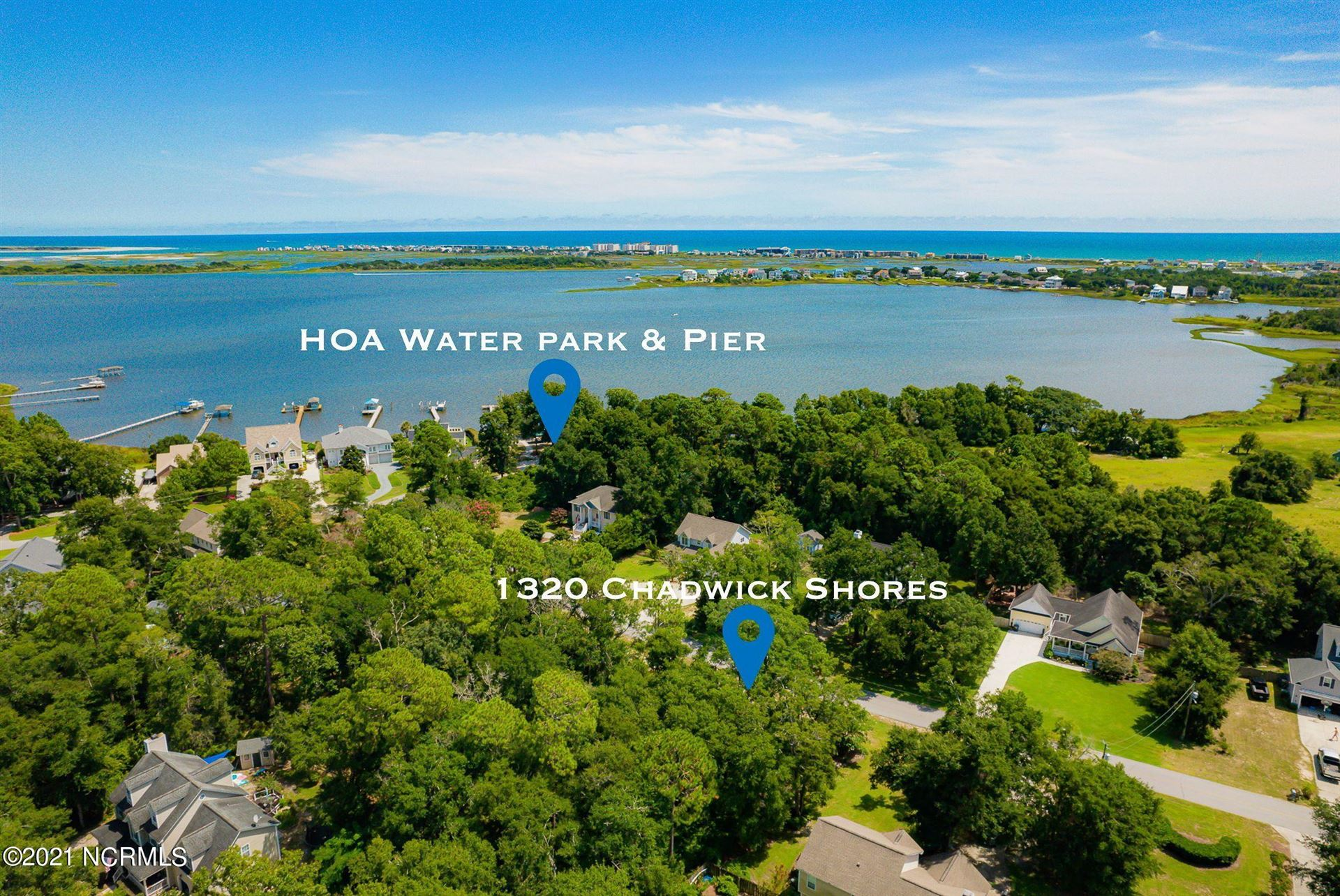 Photo of 1320 Chadwick Shores Drive, Sneads Ferry, NC 28460 (MLS # 100285912)