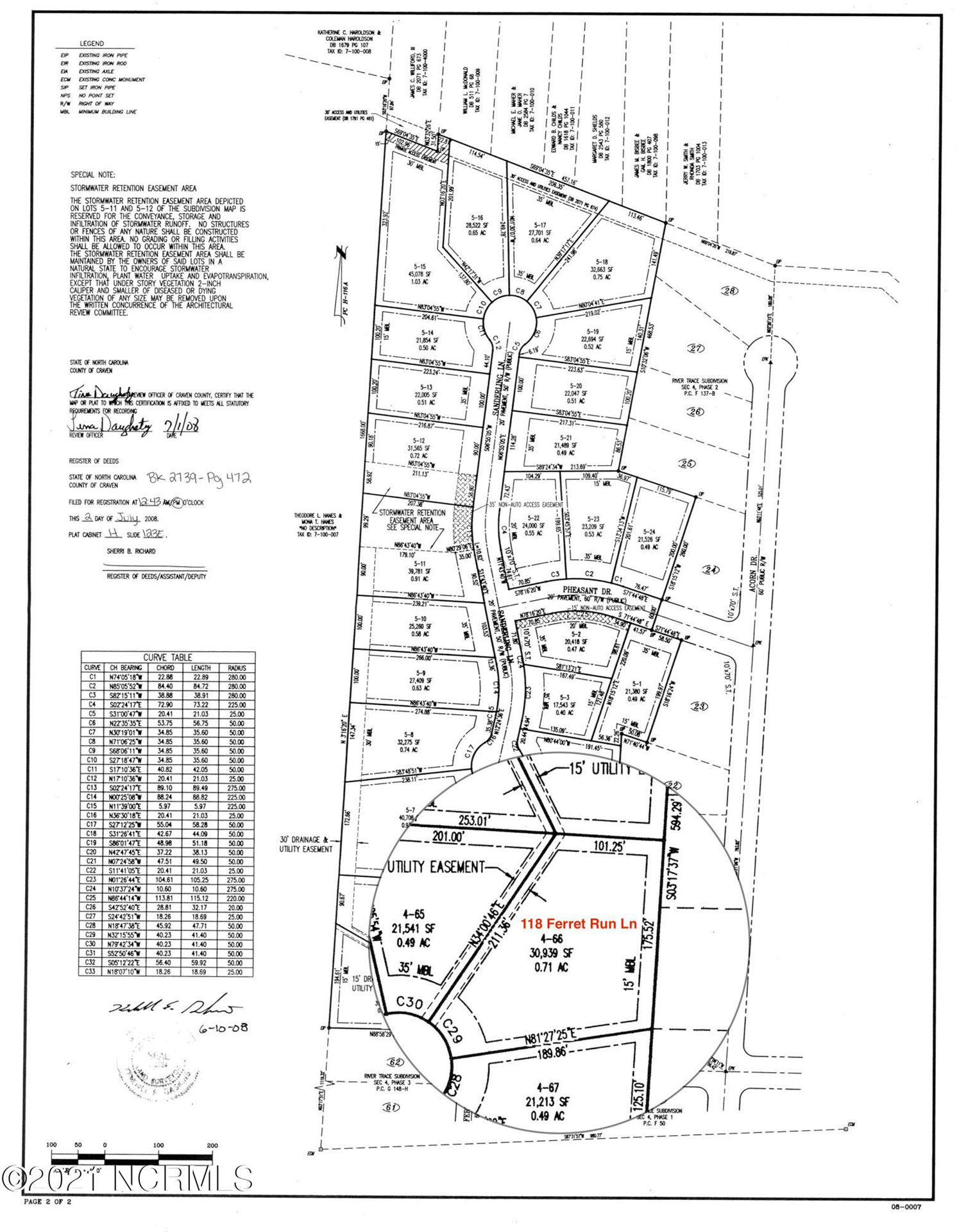 Photo of 118 Ferret Run Lane, New Bern, NC 28562 (MLS # 100252914)