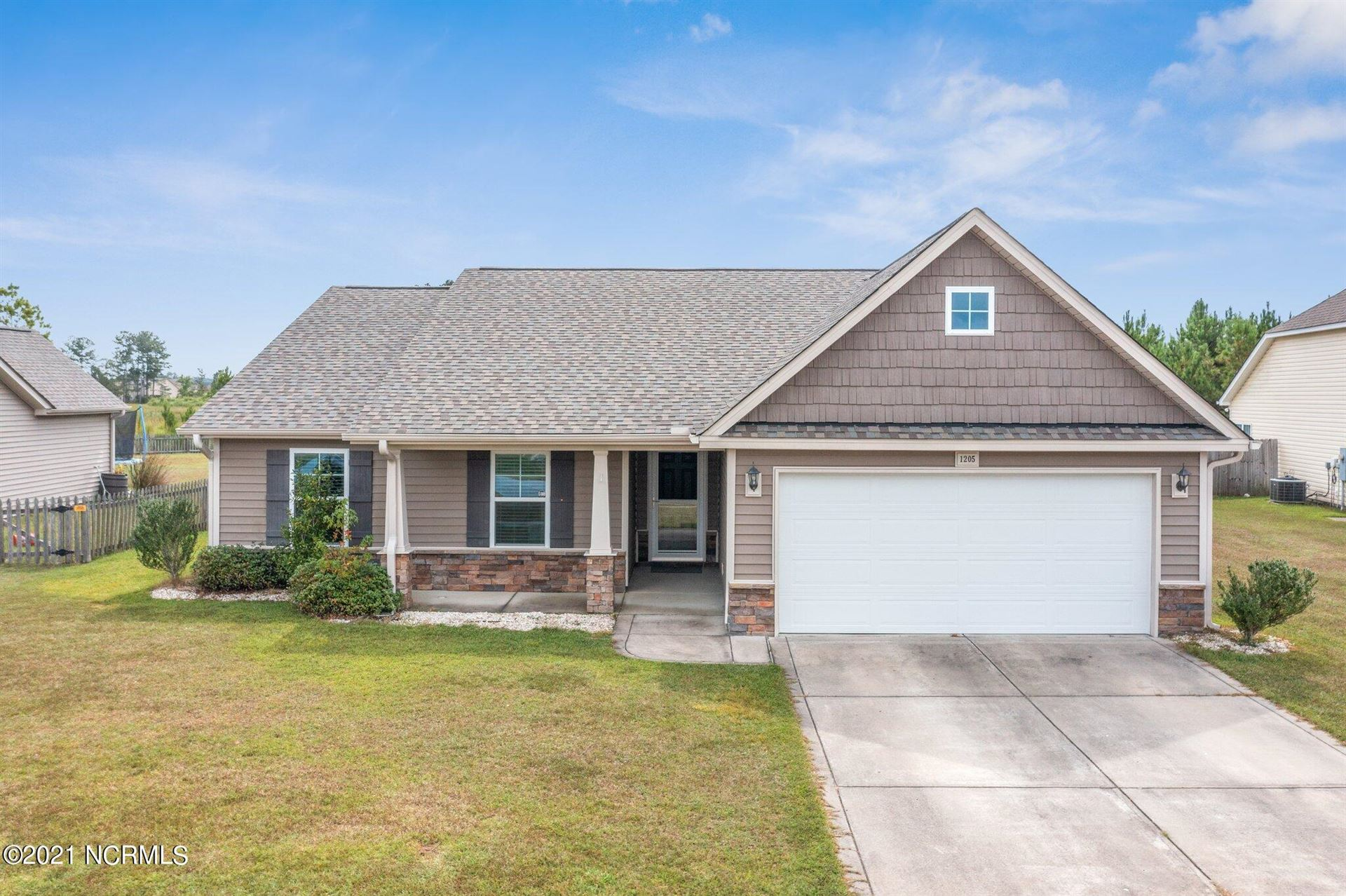 Photo of 1205 Teakwood Drive, Greenville, NC 27834 (MLS # 100291922)