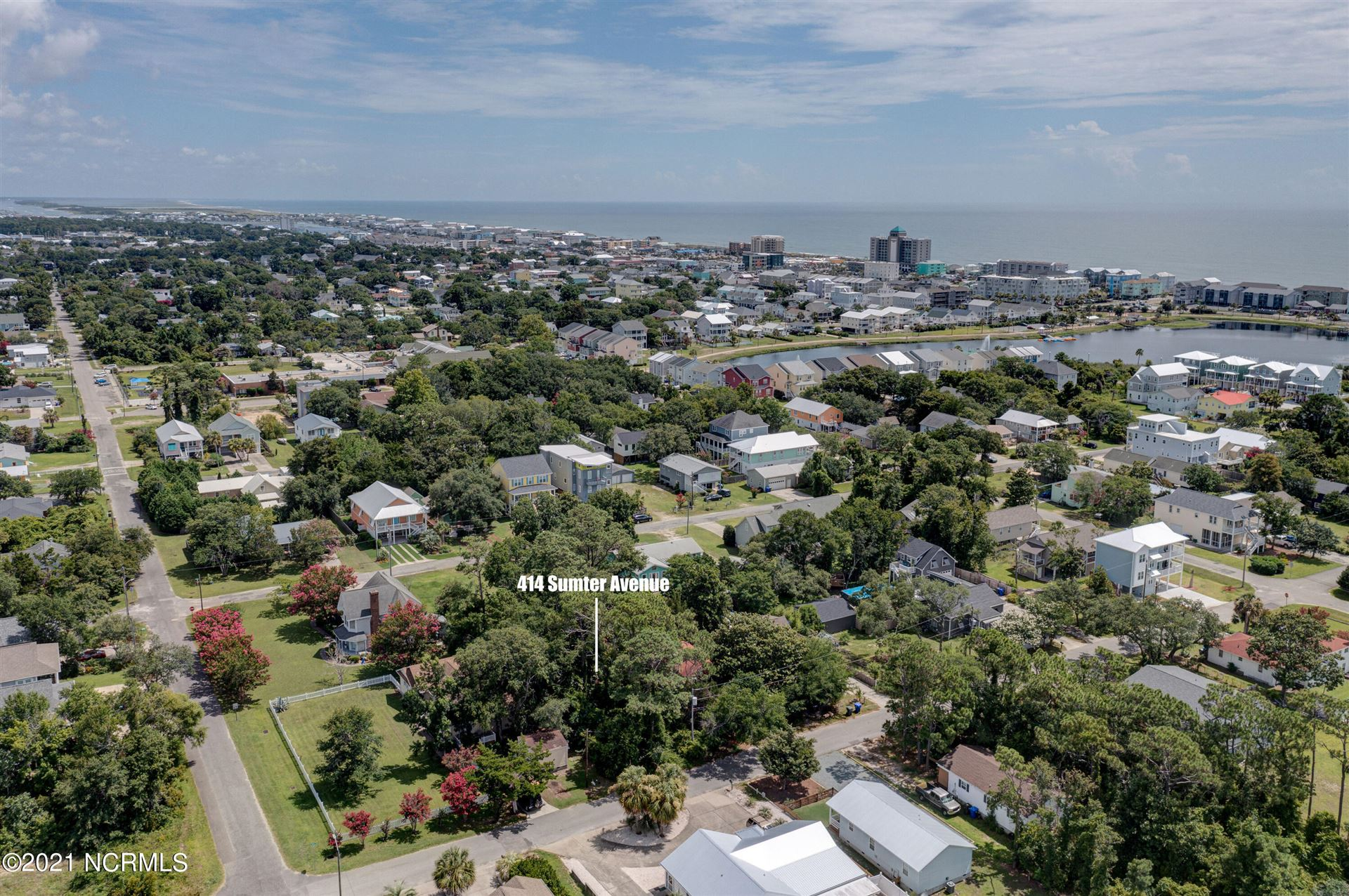 Photo of 414 Sumter Avenue, Carolina Beach, NC 28428 (MLS # 100291928)