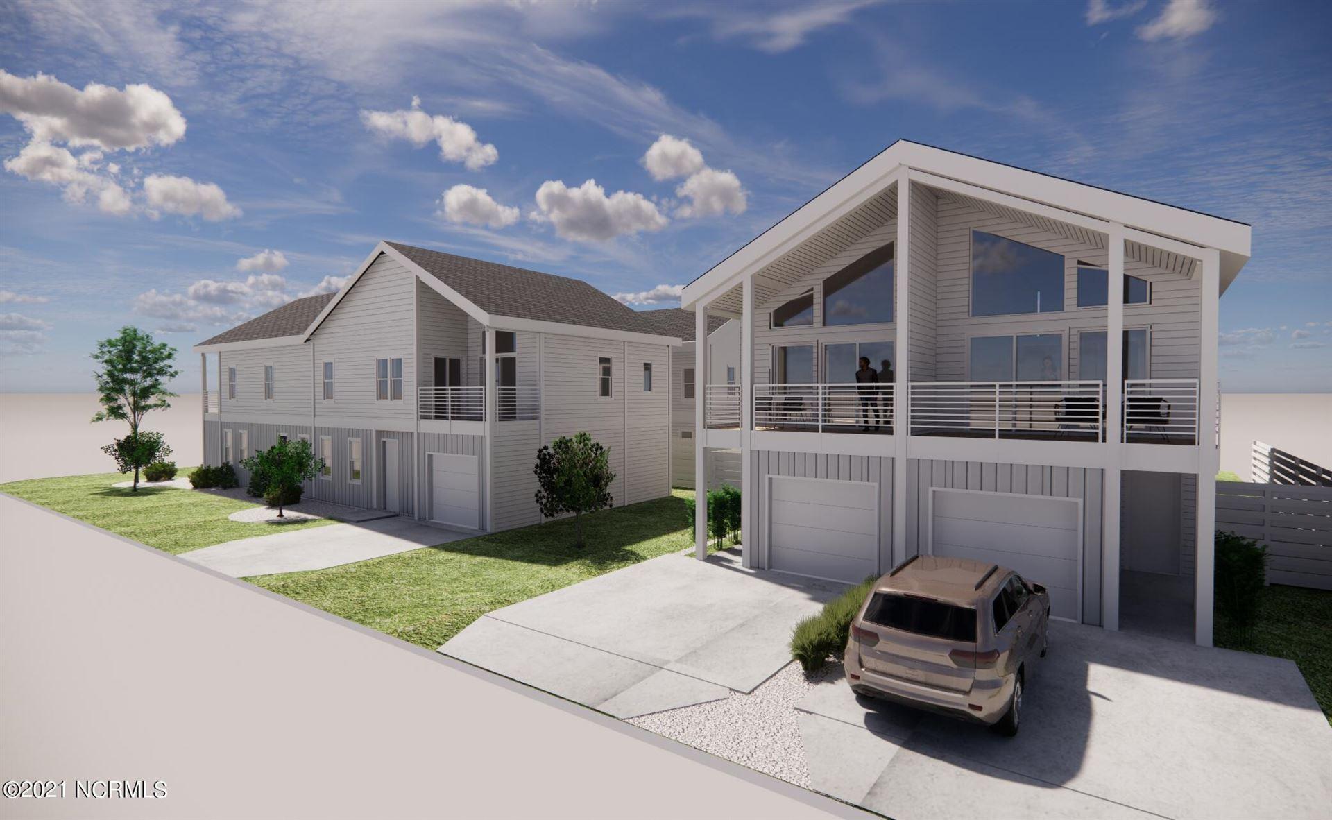 Photo of 619 Sumter Avenue #Unit 2, Carolina Beach, NC 28428 (MLS # 100290932)