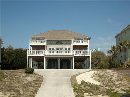 Photo of 7008 Ocean Drive, Emerald Isle, NC 28594 (MLS # 100116933)