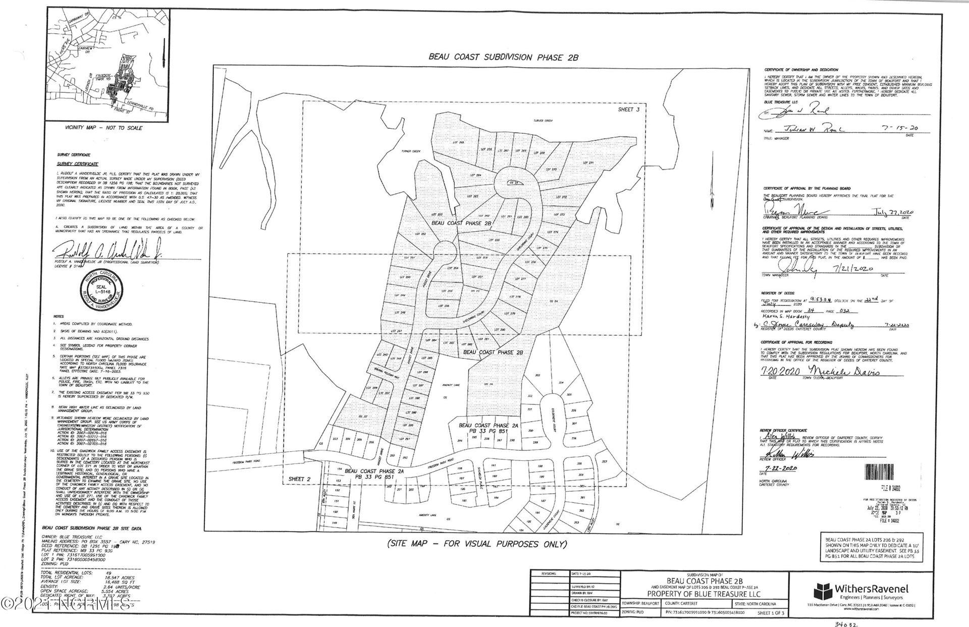 Photo of 560 Sheldrake Court, Beaufort, NC 28516 (MLS # 100259941)