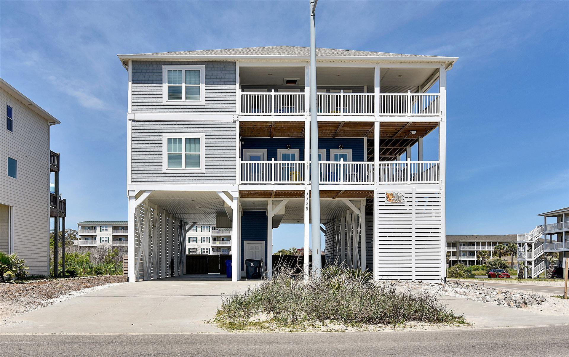 Photo for 5528 E Beach Drive, Oak Island, NC 28465 (MLS # 100269943)