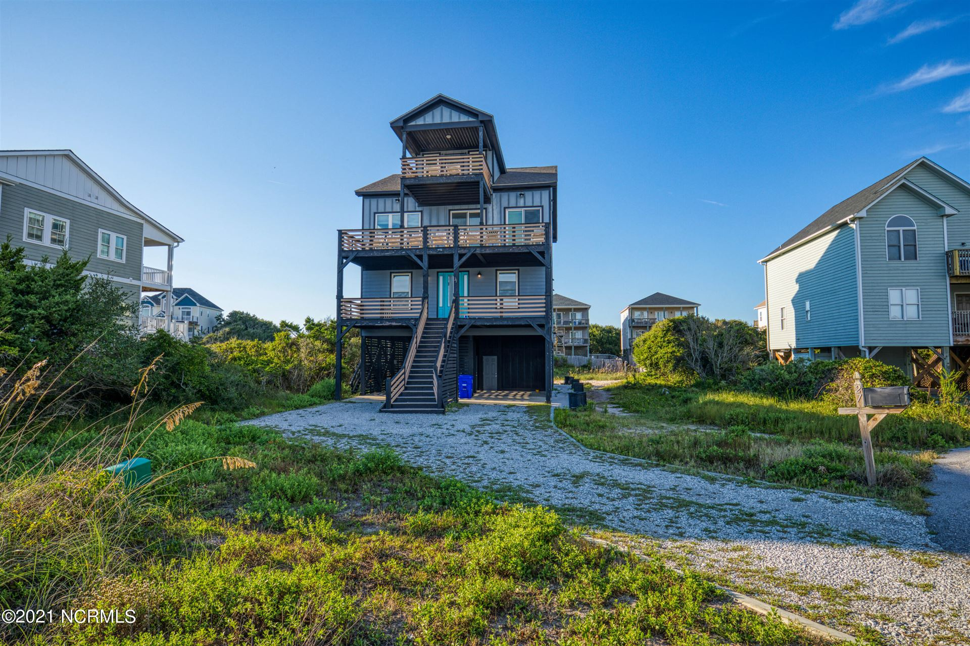 Photo of 27 Porpoise Place, North Topsail Beach, NC 28460 (MLS # 100291944)