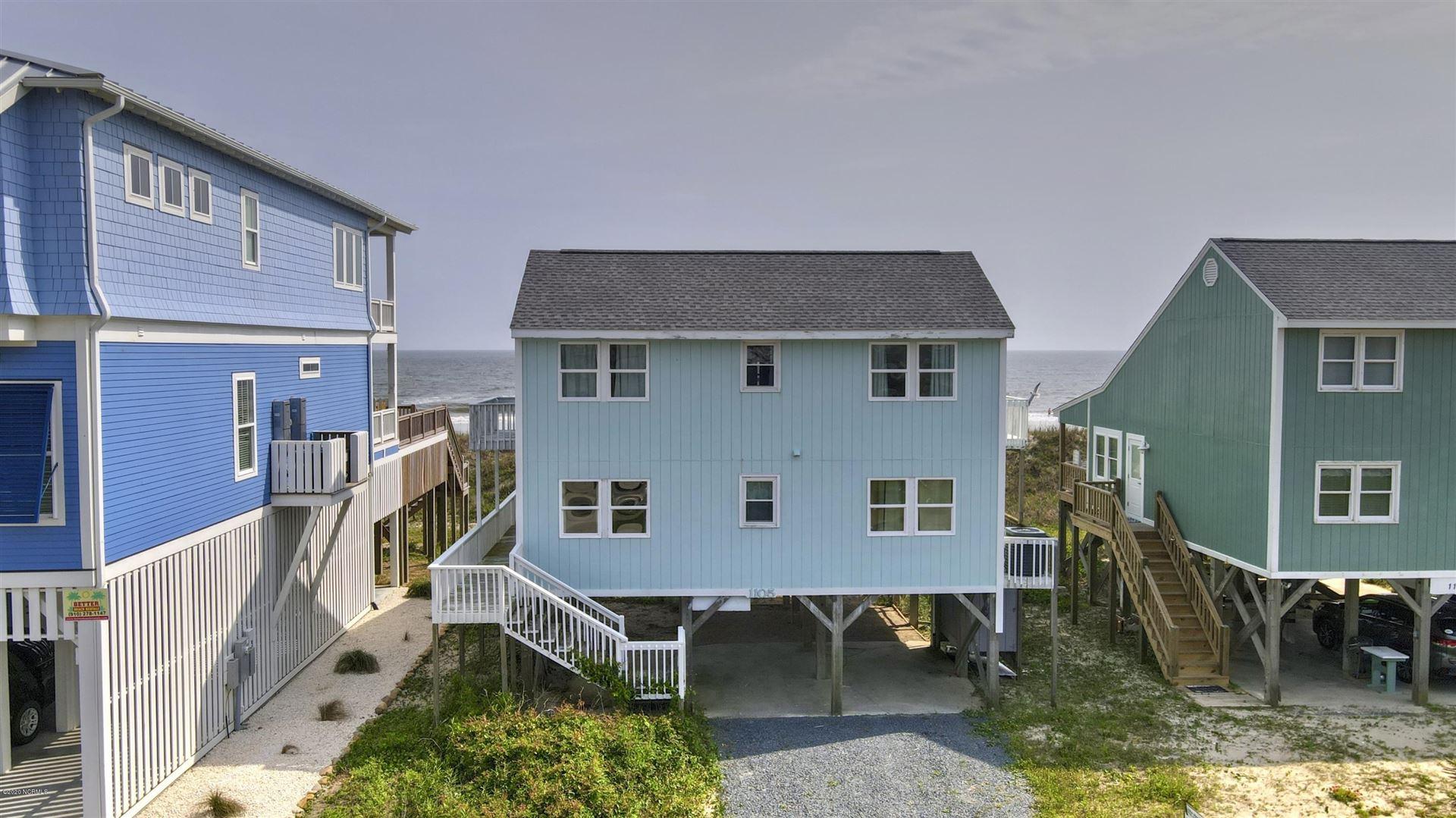 1105 Ocean Drive, Oak Island, NC 28465 - #: 100218945