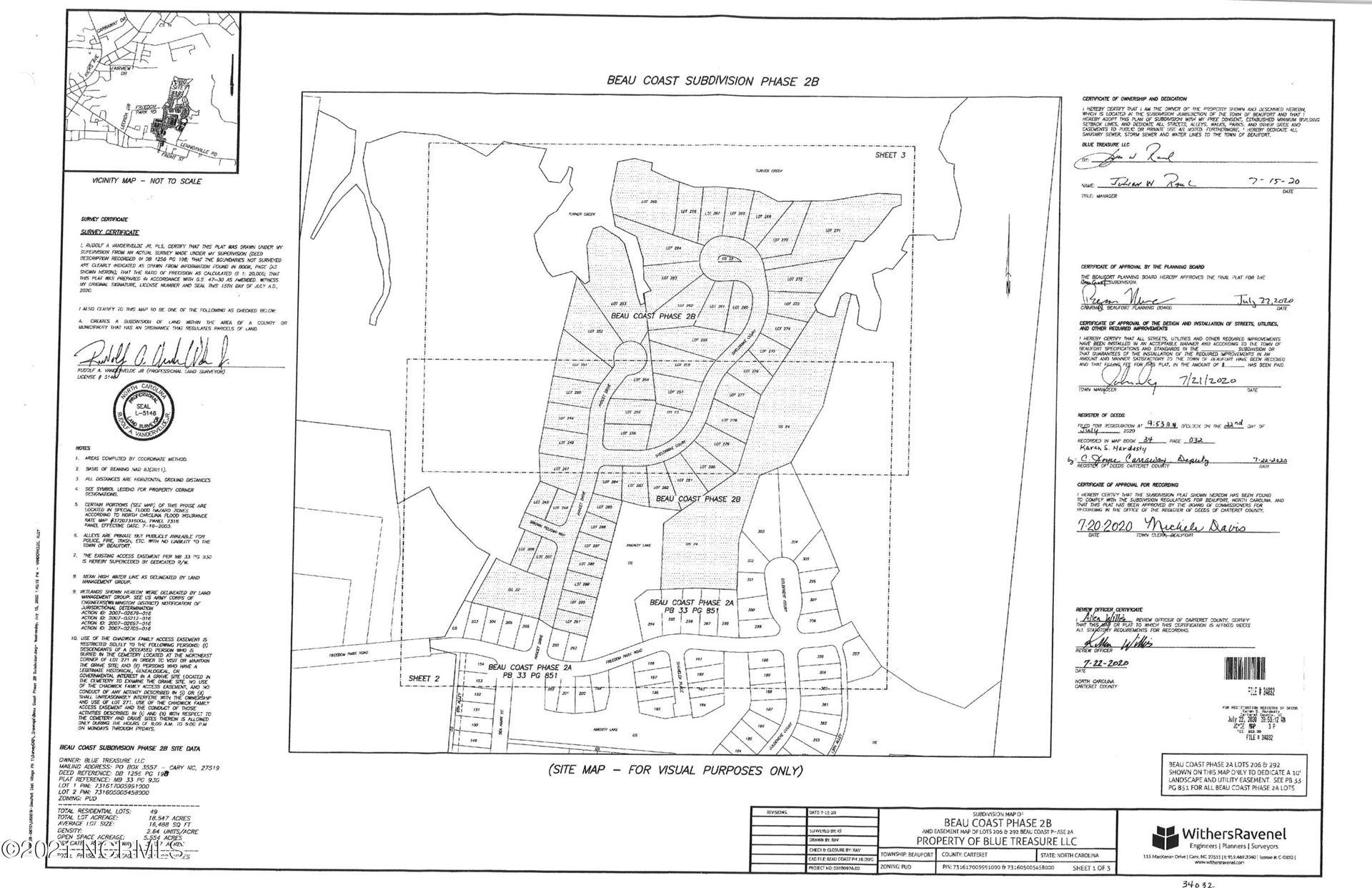 Photo of 584 Sheldrake Court, Beaufort, NC 28516 (MLS # 100259950)