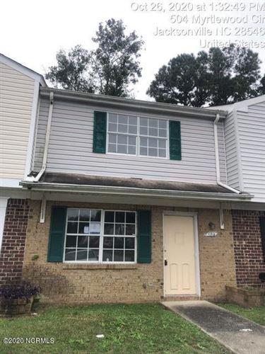 Photo of 504 Myrtlewood Circle, Jacksonville, NC 28546 (MLS # 100242951)